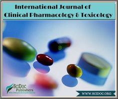 #CLINICAL #PHARMACOLOGY & #TOXICOLOGY is an independent journal, publishing original scientific research in all fields of toxicology, basic and clinical pharmacology. Visit http://scidoc.org/IJCPT.php