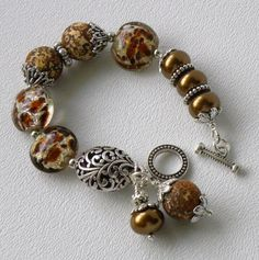 Here Kitty Kitty Handmade Beaded Bracelet by bdzzledbeadedjewelry, $36.00