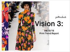 TRENDS // PATTERNBANK - PRINT TREND REPORT - VISION 3 . AW 18/19
