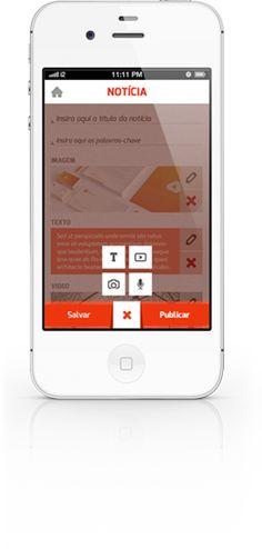 publiQ   Aplicativo iPhone e iPad para jornalistas e repórteres