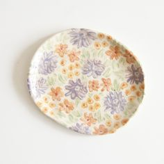 Image of Floral Dish