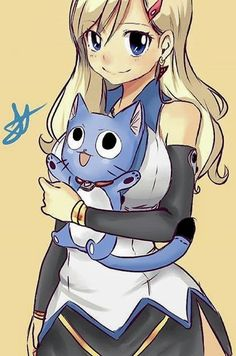 Rebecca and Happy - Edens Zero - Fairy Tail Girls, Fairy Tail Lucy, Fairy Tail Ships, Pokemon, Nouveau Manga, Heaven Art, Son Chat, Edens Zero, Natsu And Lucy