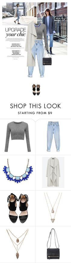 """""""Upgrade your chic."""" by v-niika ❤ liked on Polyvore featuring Levi's, Zara, Panacea and Givenchy"""