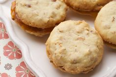 Almond-Apricot Sandwich Cookies. If you're looking for cookies that are quick and easy but look like anything but, look no further. And, honestly, aren't we always looking for those kinds of desserts?  These little almond cookies are not too sweet. And, actually, they're pretty tasty on their own. They can be made in one bowl.
