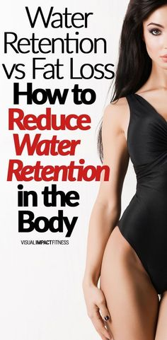It's important to be able to tell the difference between water retention and fat loss.If you retain water and believe you aren't losing fat, you may reduce calories unnecessarily.Here's what signs to look for and how to reduce water retention in the body. Lose Water Weight, Diet Plans To Lose Weight, How To Lose Weight Fast, Weight Gain, Losing Water Weight Fast, Reduce Weight, Good Health Tips, Health Advice, Weight Loss Program