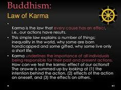 Image result for 12 laws of karma buddhism