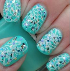 The enchanting images below, is segment of Cool Nail Designs for Girls post which is arranged within Cool Nails, and published at October 17th, 2013 21:31:57 PM by nails. Description from squishstyle.com. I searched for this on bing.com/images