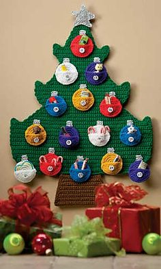 Crochet advent calendar ~ pattern available