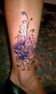 Lotus Flower Tattoo Body Tattoos, New Tattoos, Tatoos, Lotus Tattoo, I Tattoo, Lotus Flowers, Watercolor Tattoos, Awesome Tattoos, Flower Tattoos