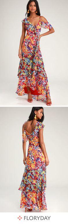 Robe sablier maxi à manches courtes color-block Best Prom Dresses, Short Dresses, Summer Dresses, Hippie Dresses, Hippie Outfits, Tutu Rock, Estilo Jeans, Floral Midi Dress, Denim Fashion