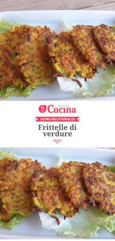 #Frittelle di #verdure della nostra utente Vittoria. Unisciti alla nostra Community ed invia le tue ricette!