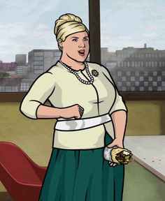 "18 Incredibly Valuable Life Lessons From Pam Poovey From ""Archer"""