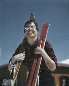 Robert Capa, [Skier, Zermatt, Switzerland], 1950. © International Center of Photography