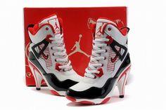 Nike Air Jordan 4 High Heels- hahaha I think yes
