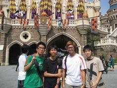 Day4 迪士尼城堡前合照
