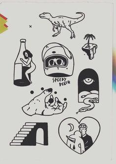 The influence of tattoos on the fate of a person Flash Art Tattoos, Body Art Tattoos, Small Tattoos, Arabic Tattoos, Script Tattoos, Anchor Tattoos, Sleeve Tattoos, Kritzelei Tattoo, Poke Tattoo