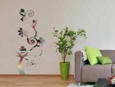 Mirror Sticker, Wall Decor Ideas for Spacious Room Design