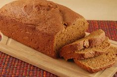 Surprised how good this fat free whole wheat pumpkin bread is! I reduced the sugar, and replaced it with maple syrup!