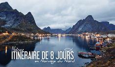 Découvrez notre itinéraire d'une semaine en Norvège du nord. Entre Iles Lofoten, Trosmo, Cape Notrth... et les aurores boréales.