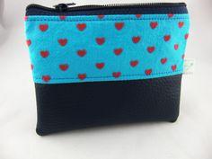 Taschenorganizer - mini Etui/Täschchen sweet heart - ein Designerstück von prettybyreni bei DaWanda