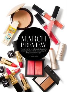 March Preview Beauty Spring 2015