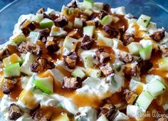 Snickers Apple Salad - Sarah's Whimsy