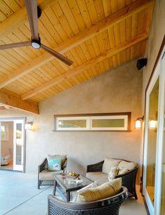 Custom home with wood covered ceiling Building Design, Building A House, Construction Group, Custom Homes, New Homes, Ceiling, Wood, Outdoor, Furniture