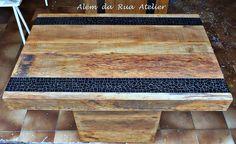 Mosaico em madeira de demoliçãohttp://alemdaruaatelier.com.br/2014/10/mosaico-em-madeira-de-demolicao/