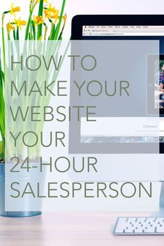 Simply having a website doesn't mean it is selling your business. There are some key ways you can put your website to work, even when you're sleeping.