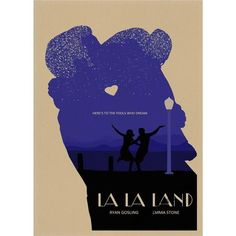 La La Land Retro Poster