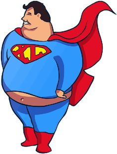 Fat Superman. What If Superheros Let Themselves Go? #thor #graphicdesign #superheros