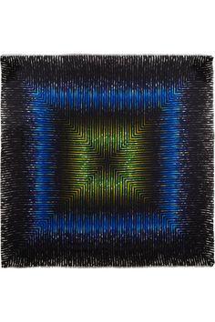Peter Pilotto Printed silk scarf