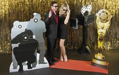 Don't miss out on the golden opportunity to add this unforgettable photo opportunity to your movie night decorations! Your party guests are sure to feel like stars when they walk red carpet at your party.