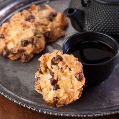 Coconut Chocolate Chip Macaroons, Gluten Free