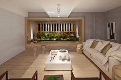 Sala de estar criada por Juliana Santana.