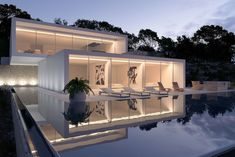 Splendid villa in Ibiza, Spain by Gallardo Llopis Arquitectura.