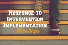 have always been pretty passionate about Response to Intervention because I truly feel it works at helping students achieve to their maximum potential whether they get the services through regular education or special education.  However, it has to be implemented properly with continued support for the