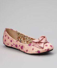 Pink Floral Minely Flat