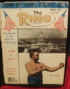 Ivanhoe162 on Ecrater-The Great Ebay Alternative: THE RING vintage magazine AUGUST 1976 great boxing...
