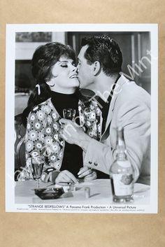 RZ182 Photo Gina Lollobrigida Rock Hudson Strange Bedfellows 1965 | eBay