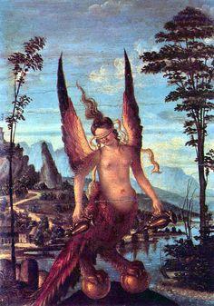 Giovanni Bellini - Nemesis, or The Virtue (c. 1490)