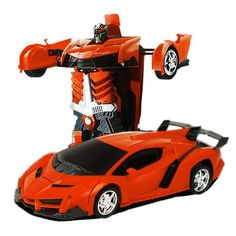 Transformation Robots RC Car Sports Car Models Remote Control Deformation Car RC Robots Kids Toys Children's Birthday Gifts - Kid Shop Global - Kids & Baby Shop Online - baby & kids clothing, toys for baby & kid Valentino Rossi, Remote Control Cars, Radio Control, New Sports Cars, Sport Cars, Best Baby Toys, Baby Shop Online, Birthday Gifts For Kids, Rc Cars