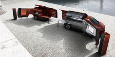 Peugeot Foodtruck Concept Slated for 2015 Milan Design Week World Debut - autoevolution