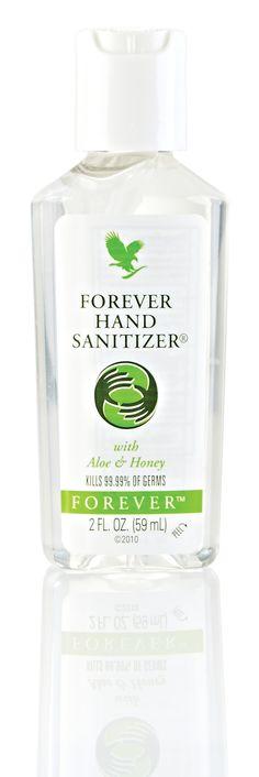 #Forever Hand Sanitizer – a big peace of mind in a portable bottle. http://link.flp.social/YDf4x2