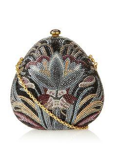 Judith Leiber Women's Pear Clutch, Multi,