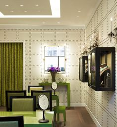 David Webb Flagship Boutique - New York - designed by architect Peter Pennoyer and interior design by Katie Ridder