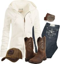 Country Style Outfits, Country Wear, Country Girl Style, Country Fashion, Country Girl Dresses, Southern Style, Country Life, Cowgirl Outfits, Western Outfits