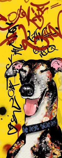Greyhound Graffiti
