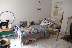 adorable little girls vintage bedroom