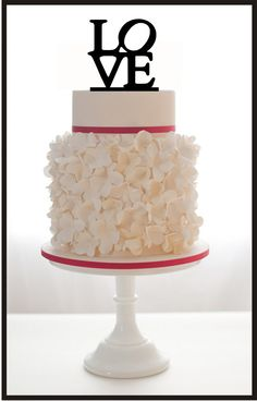 Hey, ho trovato questa fantastica inserzione di Etsy su https://www.etsy.com/it/listing/156934102/wedding-cake-topper-love-monogram